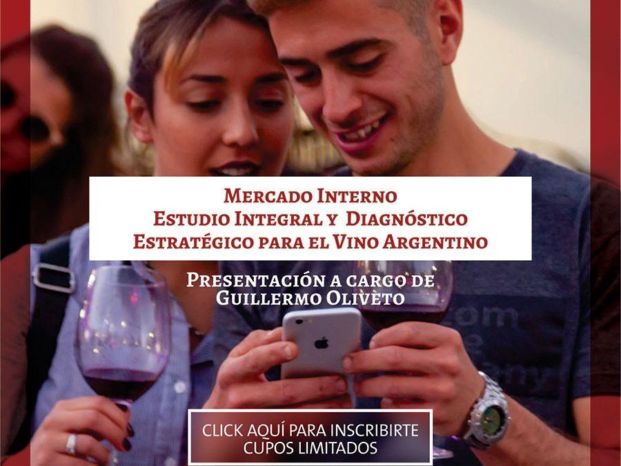 COVIAR presenta un estudio sobre la situación competitiva del vino argentino en el mercado interno