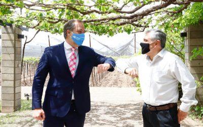 La Municipalidad de Maipú y COVIAR se unen para desarrollar la vitivinicultura