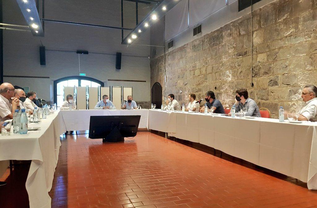 Agenda de trabajo abierta entre COVIAR y el Ministerio de Economía de Mendoza